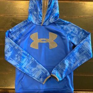 Boys UA hoodie, size large